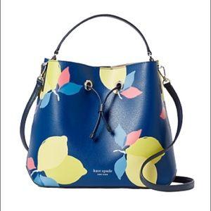 Kate Spade Eva Lemon Zest Bucket Bag